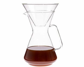 Trendglas German Glass Pour Over Coffee Maker