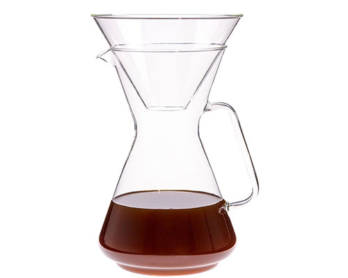 Trendglas German Glass Pour Over Coffee Maker