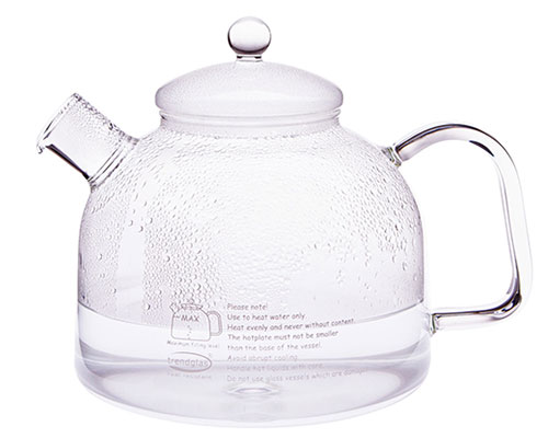 German Glass Stove-Top Kettle 7 cup