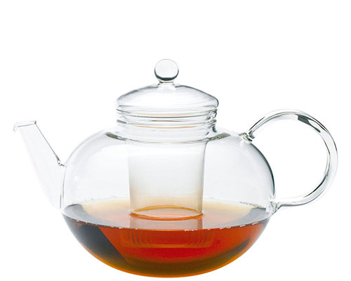 German Glass Miko Teapot