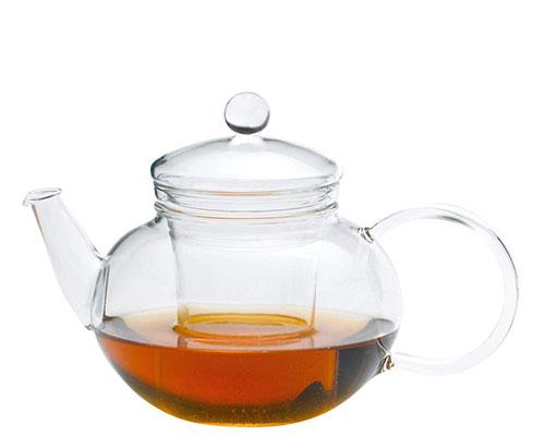 German Glass Miko 5 Cup Teapot
