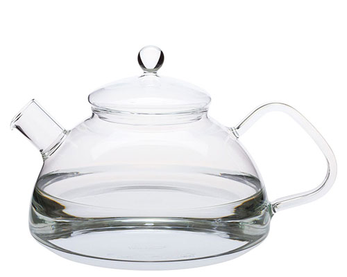 German Glass 5 Cup Kettle